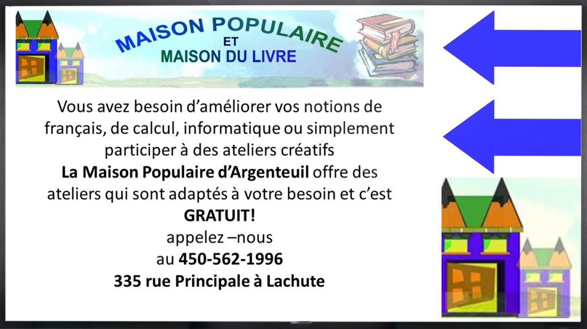 Maison populaire d'Argenteuil