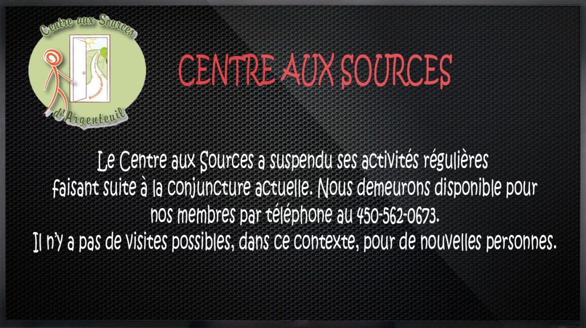 Centre aux sources
